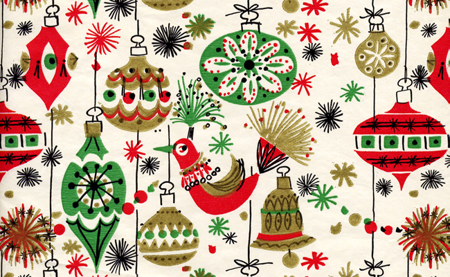 Vintage Paper Christmas Decorations
