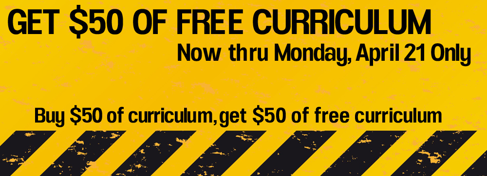 Get $50 of FREE Preteen Curriculum