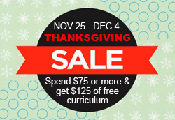 B: Thanksgiving Sale