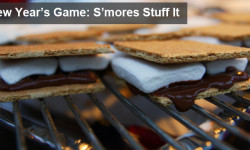 new years youth group game - smores stuff it